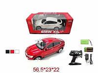 "Р/У Машина ""BMW X6"", 2 вида, аккум., батар., в кор. 56х23х22"