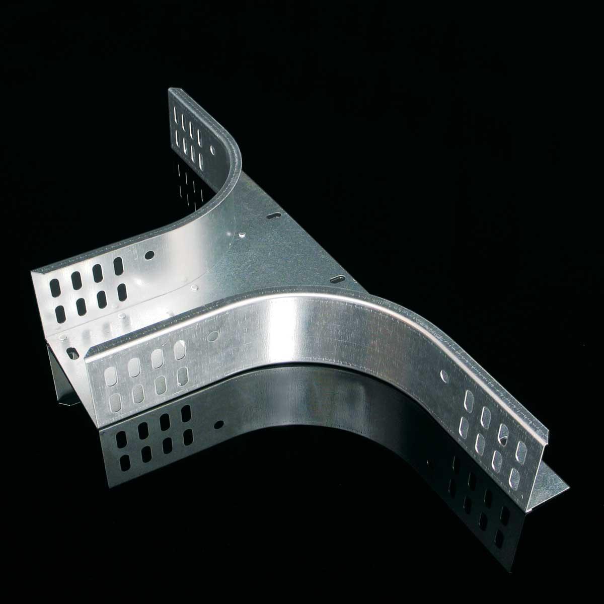Відгалуження горизонтальне для лотка JUPITER; розміри-60x200x600mm Товщ. метал-1 Вага-1,04кг/м