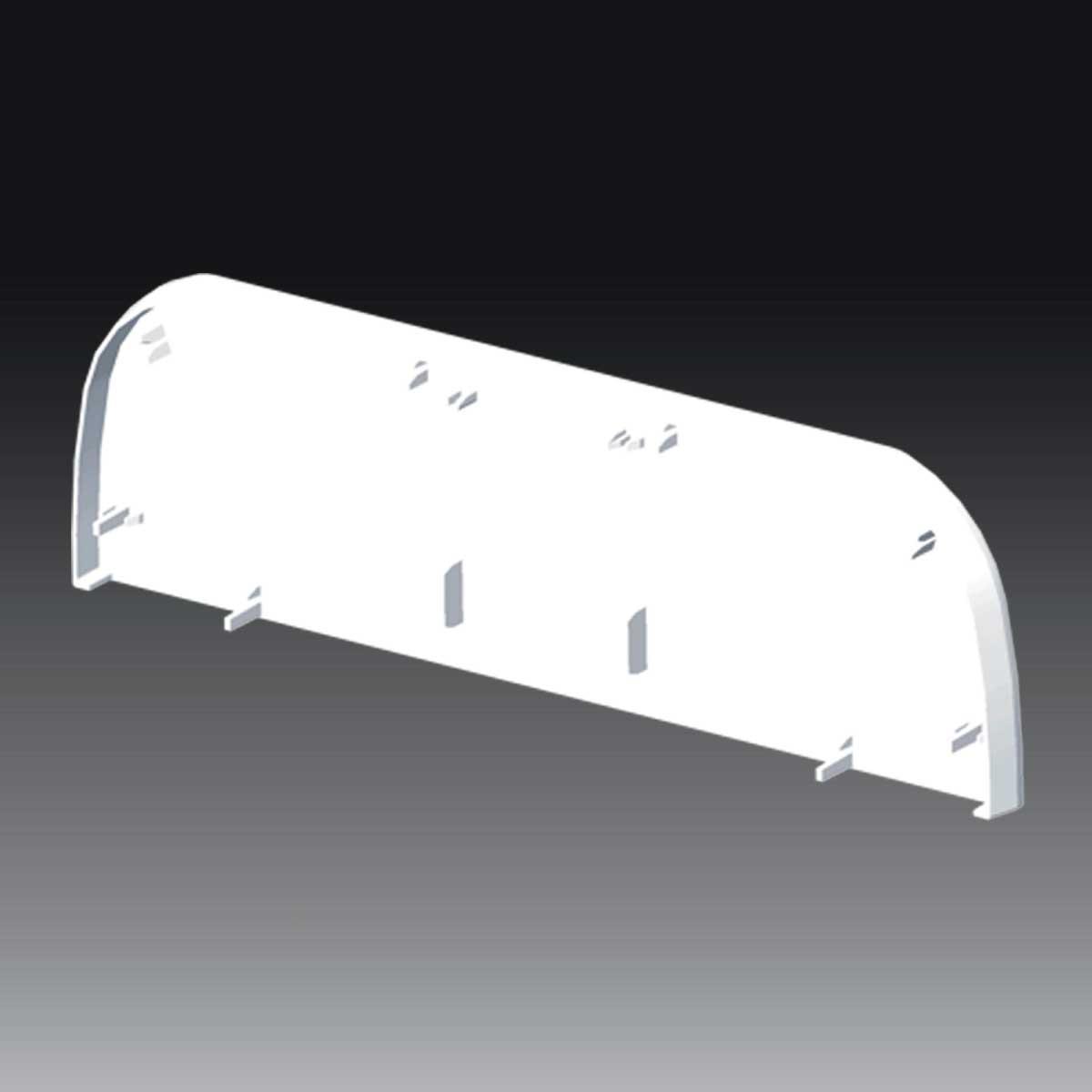 Заглушка для PK 210х70 D ; Серія PK; ПВХ