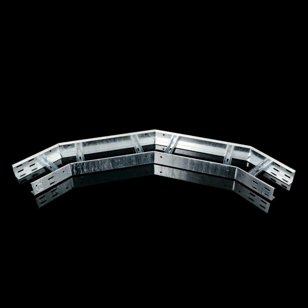 Відгалуження горизонтальне на лоток драбинного типу KOPOS; розміри-85x400xmm Товщ. метал- Вага-кг/м