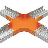 Відгалужувач хрестоподібний JUPITER; розміри-35x75x475mm Товщ. метал-0,8 Вага-1,22кг/м, фото 3