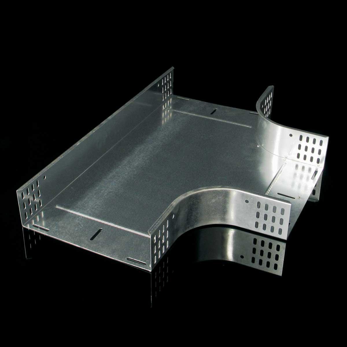 Відгалужувач горизонтальний Т-подібний JUPITER; розміри-60x50x250mm Товщ. метал-0,8 Вага-0,94кг/м