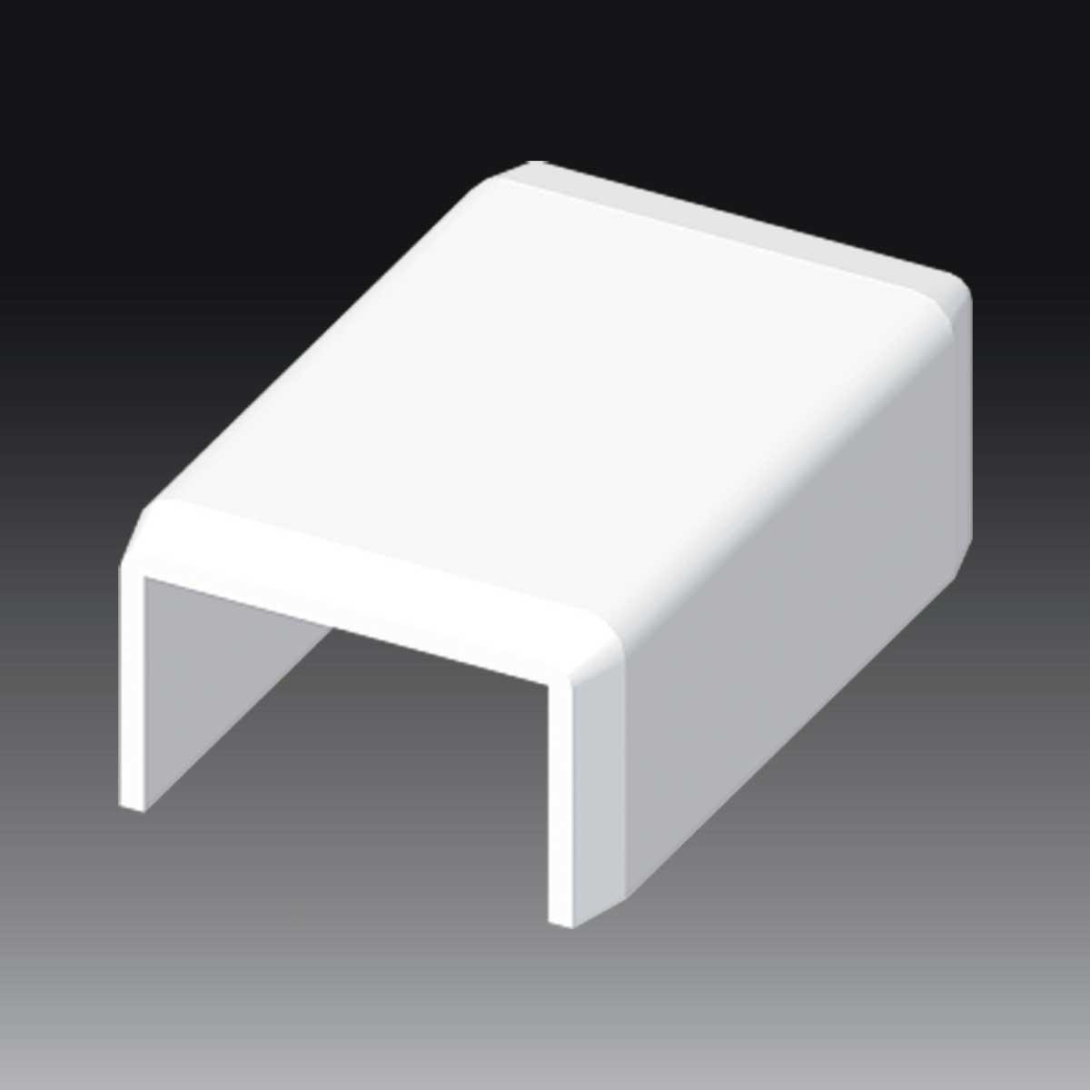 Накладка на стик до LHD 25х15  білого кольору; Серія LH; ПВХ