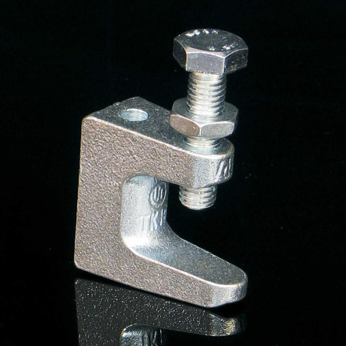 Фіксуючий зажим JUPITER; розміри-x0-20xmm Товщ. метал- Вага-0,14кг/м