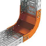 Поворот вертикальний внутрішній 90° JUPITER; розміри-35x400x220mm Товщ. метал-1 Вага-1,39кг/м, фото 3