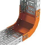 Поворот вертикальний внутрішній 90° JUPITER; розміри-60x400x245mm Товщ. метал-1 Вага-1,7кг/м, фото 3