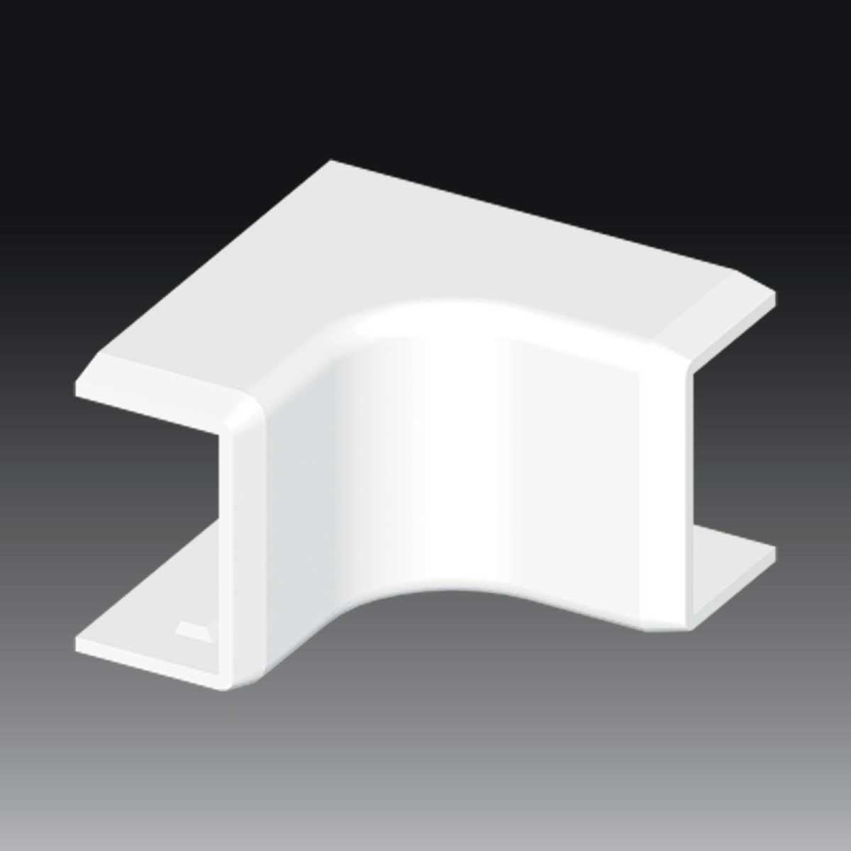 Внутрішній кут до LHD 25х15  білого кольору; Серія LH; ПВХ