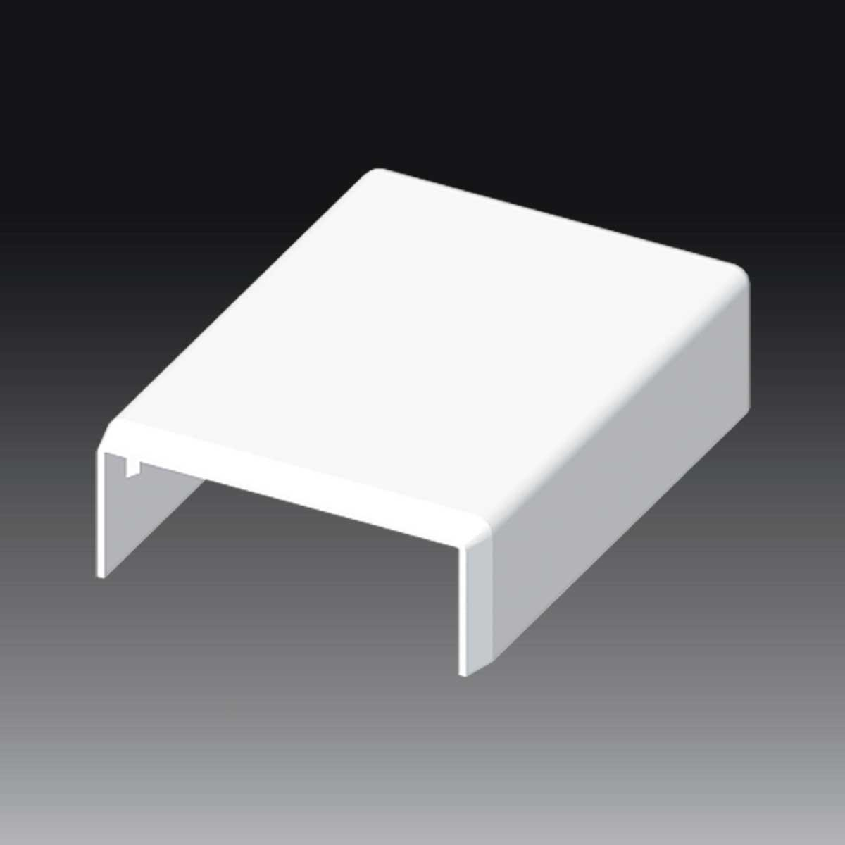 З'єднувач до LV 40х15 білого кольору; Серія LV; ПВХ