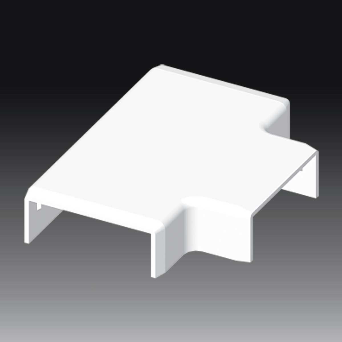 Трійник до LV 40х15 білого кольору; Серія LV; ПВХ