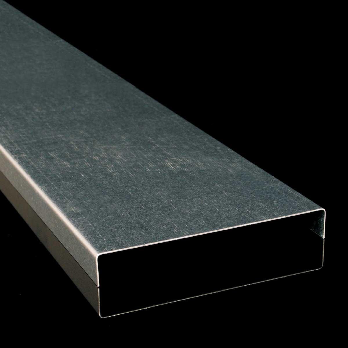 Кришка кабельного лотка JUPITER; розміри-14x600x2000mm Товщ. метал-1,25 Вага-6,27кг/м