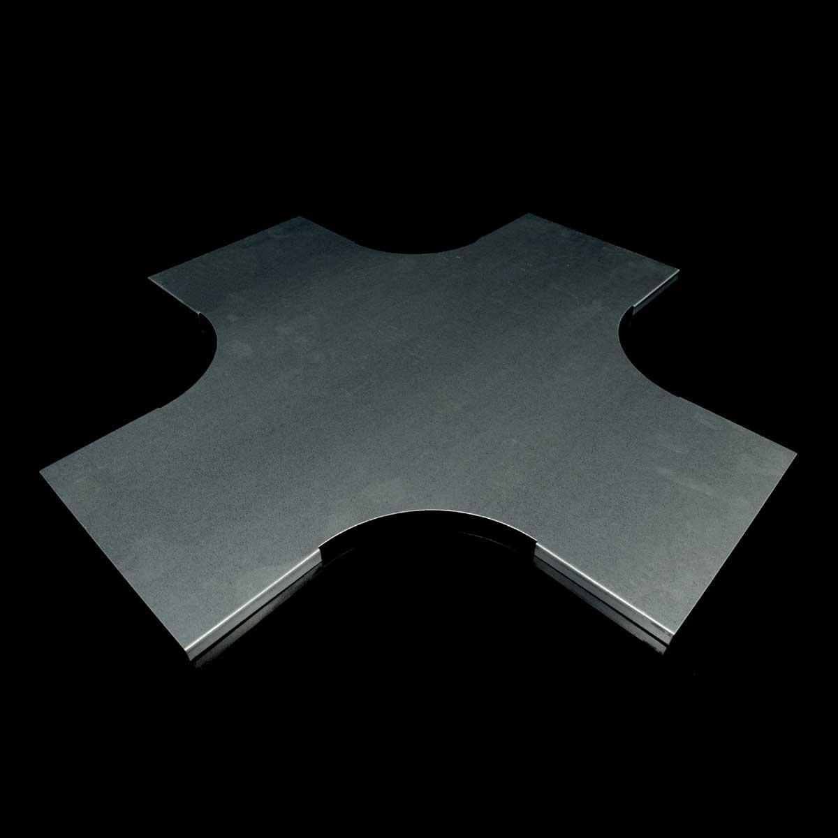 Кришка відгалужувача хрестоподібного JUPITER; розміри-12x200x600mm Товщ. метал-0,8 Вага-1,41кг/м