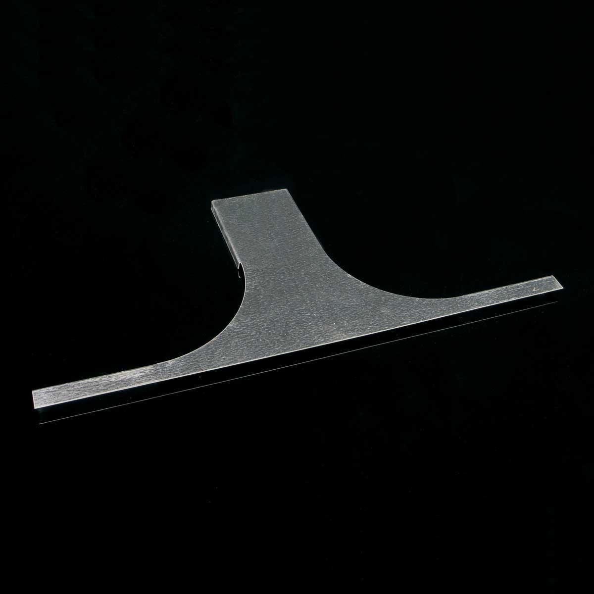 Кришка горизонтального відгалуження для лотка JUPITER; розміри-12x150x553mm Товщ. метал-0,6 Вага-0,23кг/м