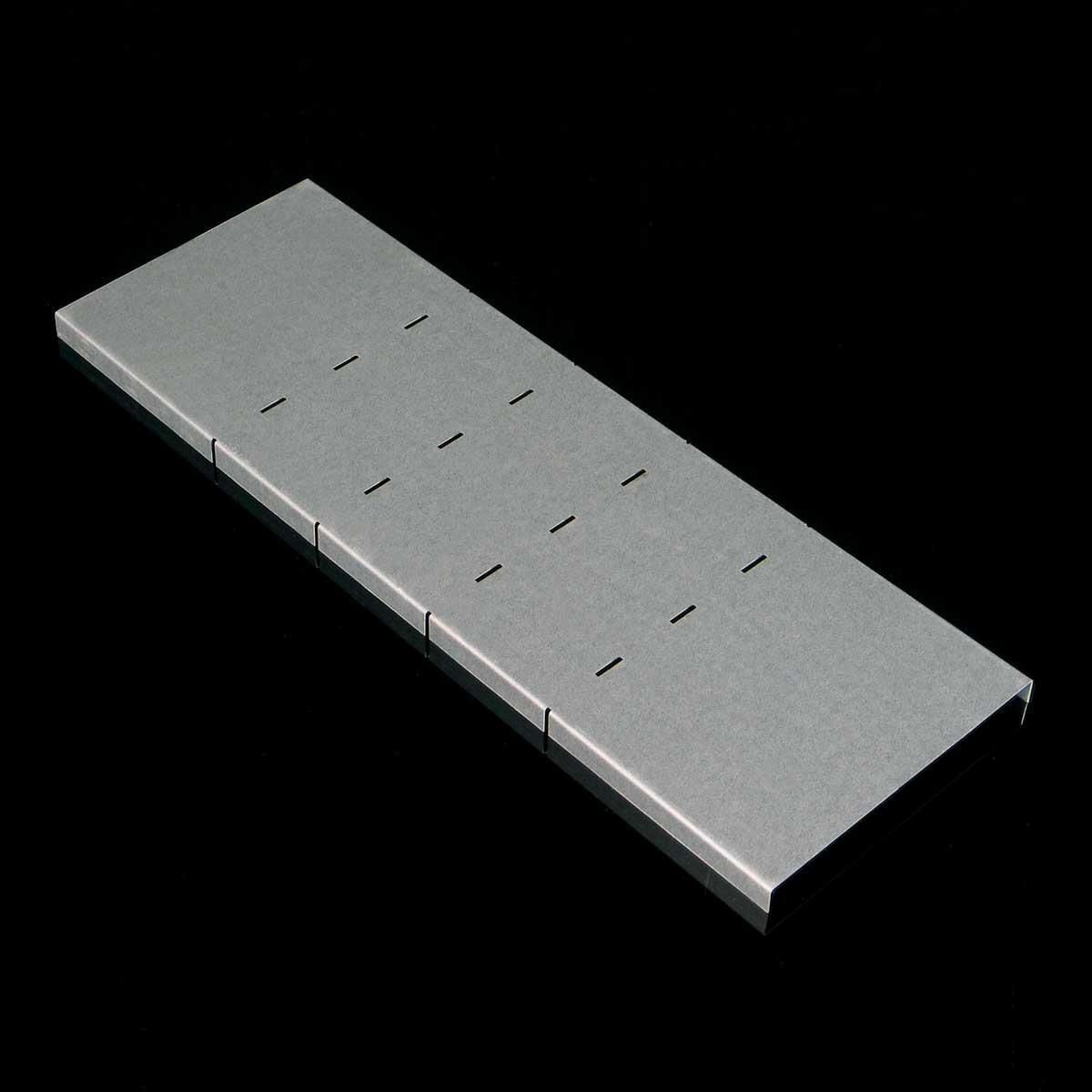 Кришка вертикального повороту внутрішнього 90° JUPITER; розміри-12x100xmm Товщ. метал-0,6 Вага-0,17кг/м