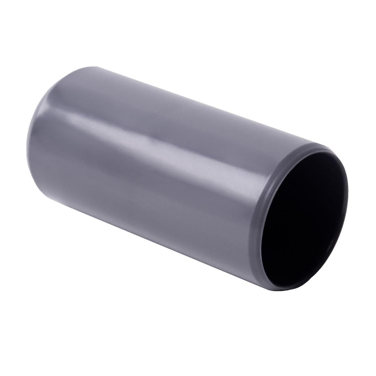 Муфта з'єднувальна для труби 50 мм; Ø50мм; ПВХ;; t застосування -25+60 °с; темно-сіра; Упаковка 10 шт