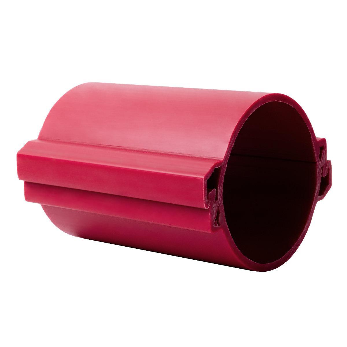 Труба розбірна КОПОХАЛФ; для підземного прокладання кабелю. Одношарова; Ø110мм; Поліетилен; червона довжина 3 м