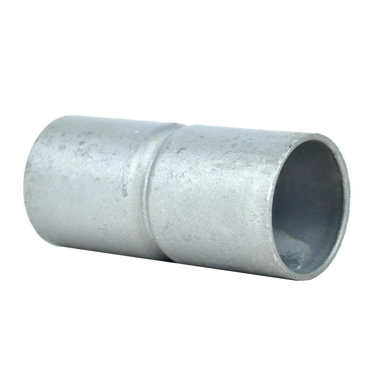 Муфта безрізьбова для труби; сталь лакована шар цинку 60-100мкм стійкість корозії- 2 кат.; упаковка 25 шт