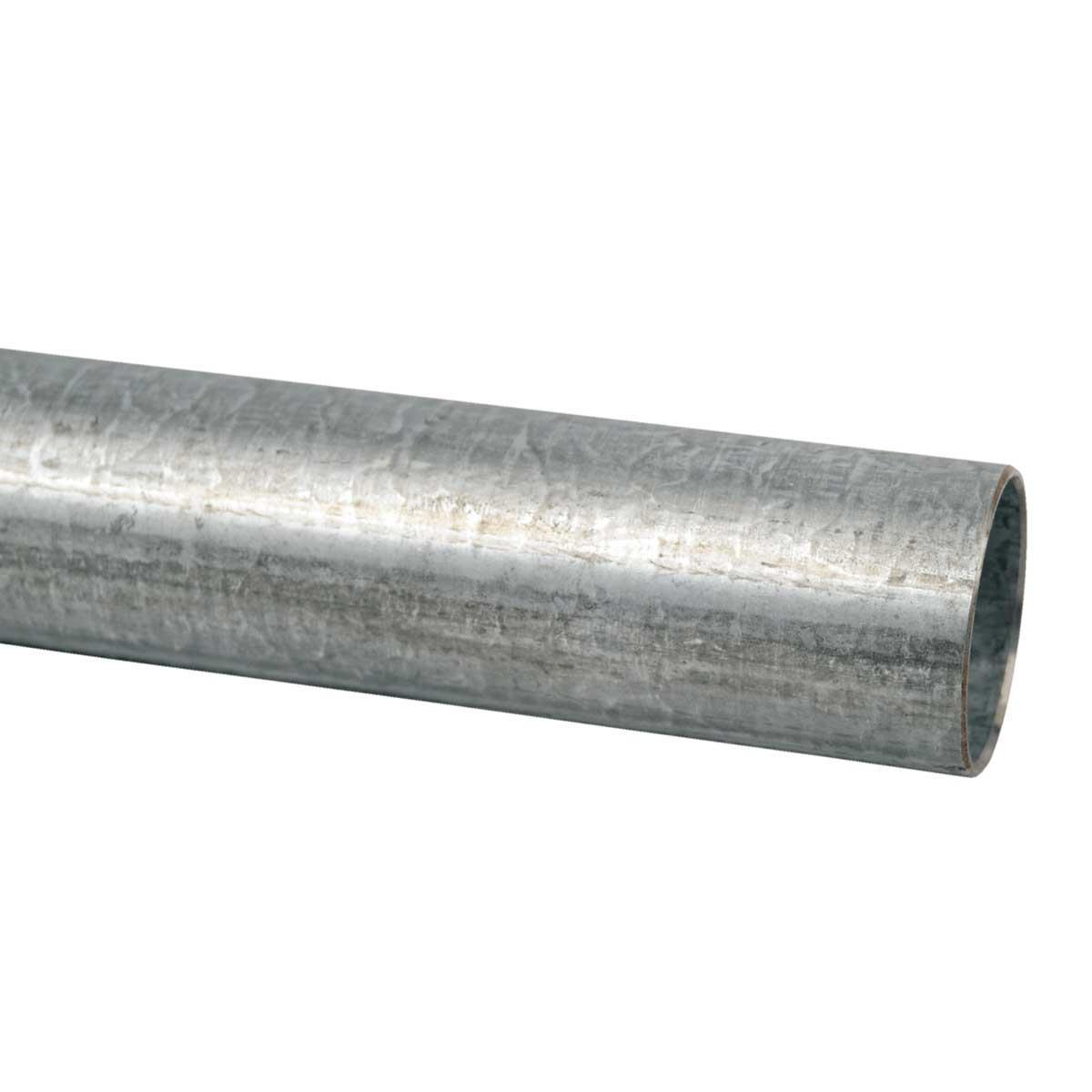 Труба металева (внутрішній d- 47,6 мм) ; з різьбовою муфтою;; сталь оцинкована шар цинку 60-100мкм стійкість корозії- 4 кат.; упаковка 15 шт