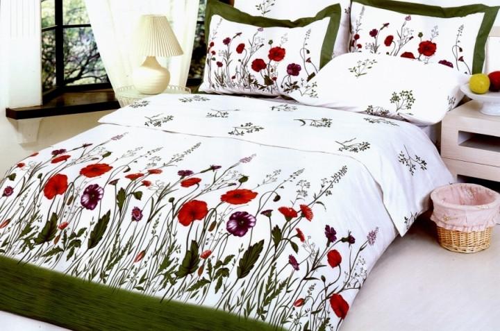 Постельное белье 1,5-спальное сатин LE VELE Garden