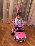 Каталка Толокар с ручкой Mercedes Bambi 3186, фото 8