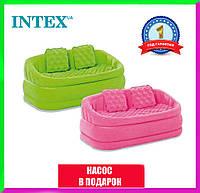 Надувной диван Intex 68573 Cafe Loveseat Двухместный надувной диван Intex Cafe Lovesea