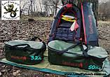 Сумка LionFish.sub - Ведро 50л для снаряжения, Рыбы, Вещей, Трофеев. Складное, Герметичное из ПВХ, фото 4