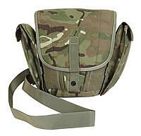 Камуфлированная сумка для противогаза MTP