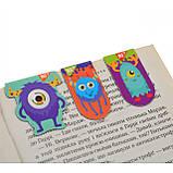 "Закладки магнітні YES ""Monsters"", 3шт, фото 2"