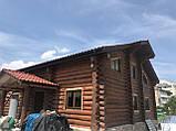 Деревянный дом, баня из бревна, фото 4