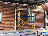 Шлифовка + покраска  деревянного дома Харьков, Киев, Одесса, Днепр, фото 7