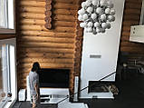 Шлифовка + покраска  деревянного дома Харьков, Киев, Одесса, Днепр, фото 8