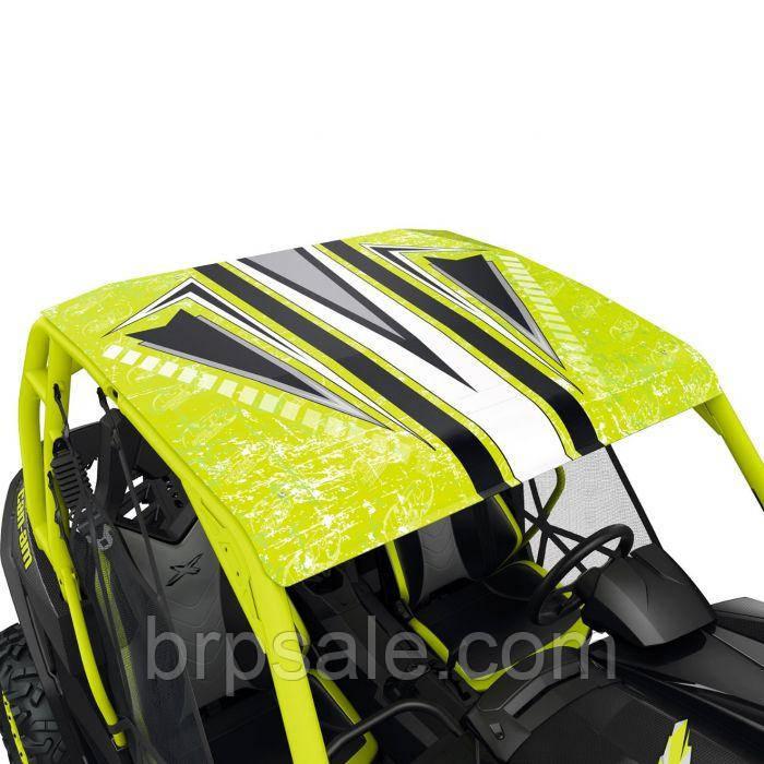 Алюминиевая крыша Lonestar Racing Can-Am BRP GREEN WRAP ALUMINUM ROOF KIT