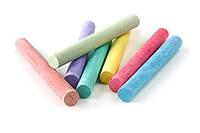 Мелки для рисования разноцветные комплект