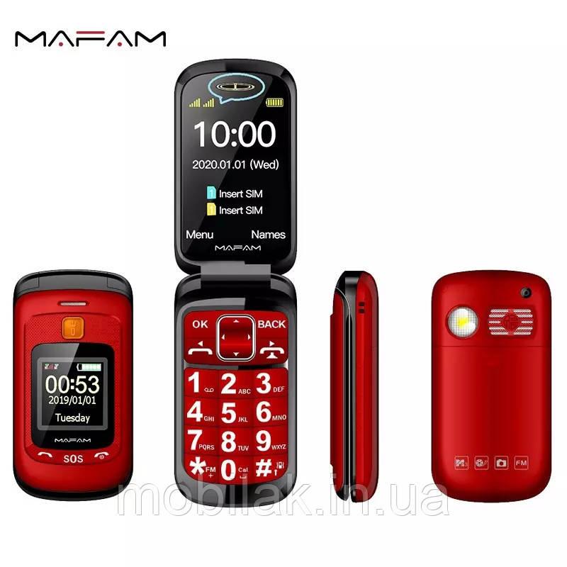 Мобильный телефон Mafam черный Red