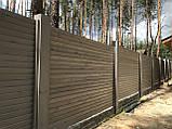 Деревянный забор Харьков, фото 4