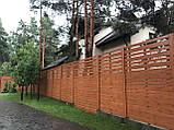 Деревянный забор Харьков, фото 5