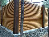 Деревянный забор Харьков, фото 9