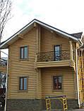 Покраска деревянного дома, сруба, фото 8