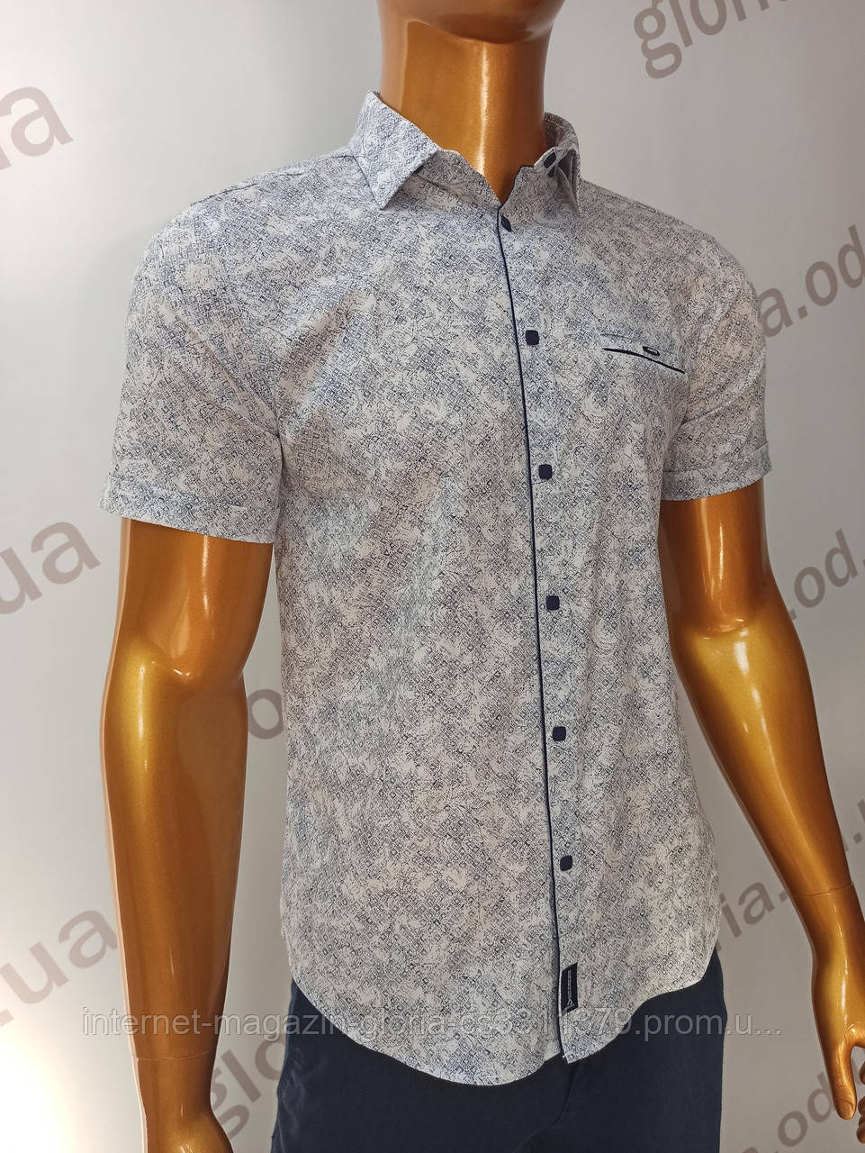 Мужская рубашка Amato. AG.19839(b). Размеры:M,L,XL, XXL.