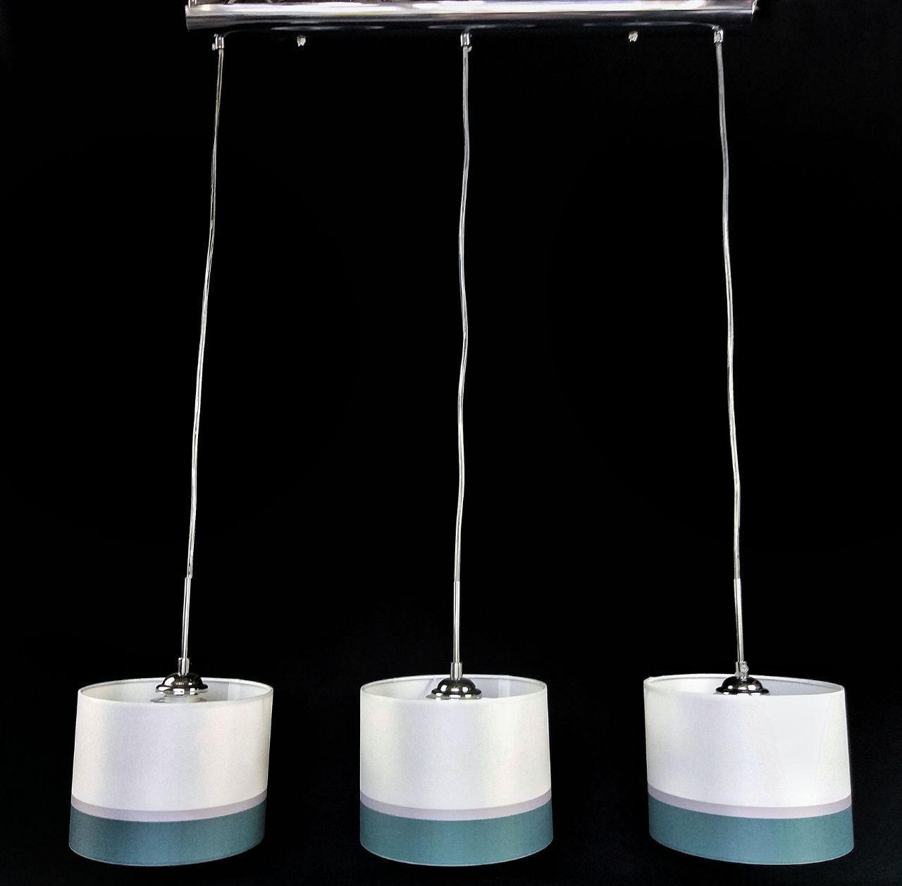 Люстра подвесная на 3 плафона в стиле австрийской коллекции EGLO 29-H327/3 CR+WT