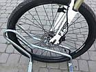 Велопарковка на 3 велосипеди Cross-3 Польща, фото 4