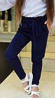 Школьные брюки для девочки р.128-176