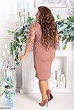 Нарядное, праздничное платье большого размера  48-50, 52-54, 56-58, фото 2