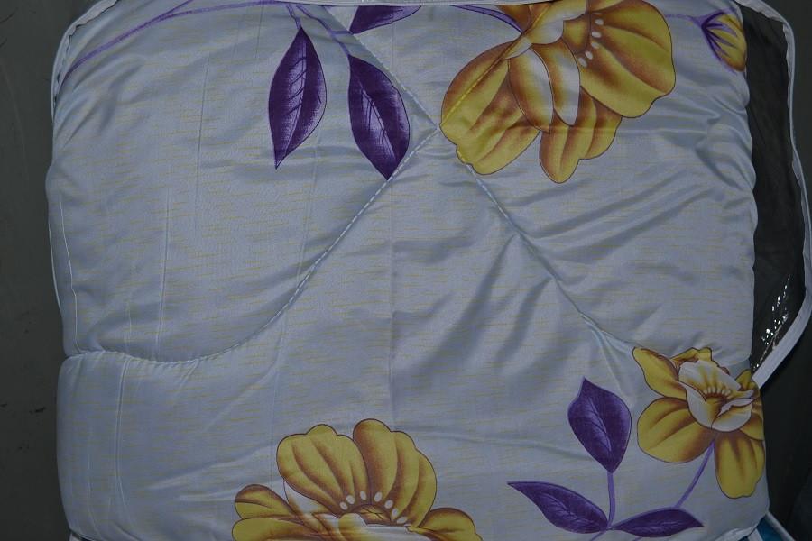 Одеяло закрытое овечья шерсть (Бязь) Двуспальное T-51167