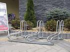 Велопарковка на 3 велосипеда Rad-3 Польша, фото 2