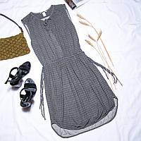 Летнее черно-белое платье H&M, размер M, арт. 30-1090