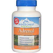 Комплекс для Ликвидации Усталости, Adrenal Fatigue Fighter, RidgeCrest Herbals, 60 гелевых капсул