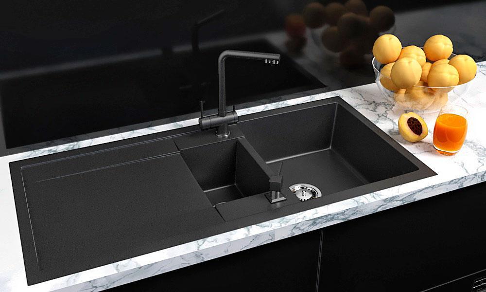 Кухонная мойка VALENTINA Gr Verona 100 черный