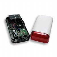 Elmes Electronic WSS. Беспроводной уличный свето-звуковой оповещатель с резервным питанием