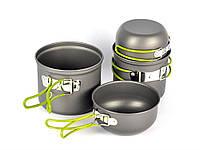 Набор туристической посуды: котелок, чашка в чехле
