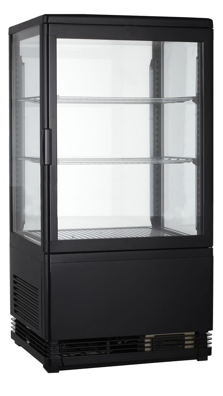 Вітрина холодильна GoodFood RT58L чорна